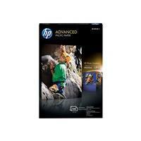HP Advanced - photo paper - 100 sheet(s) - 102 x 152 mm - 250 g/m²