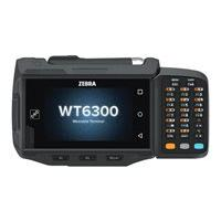 Zebra WT6300 - data collection terminal - Android 10 - 32 GB - 3.2