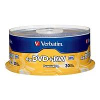Verbatim - DVD+RW x 30 - 4.7 GB - storage media