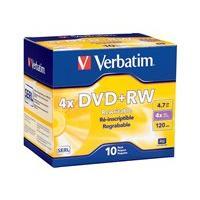 Verbatim DataLifePlus - DVD+RW x 10 - 4.7 Go - support de stockage