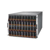 Supermicro SuperBlade SBE-820CB-422 - rack-mountable - 8U - up to 20 blades  ENCL
