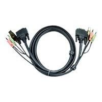 ATEN 2L-7D02UI - video / USB / audio cable - 1.8 m
