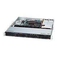 Supermicro SC813M TQ-R400CB - rack-mountable - 1U - ATX  RM