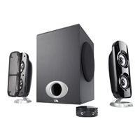Cyber Acoustics CA-3858BT - speaker system - wireless