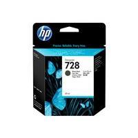 HP 728 - noir mat - original - DesignJet - cartouche d'encre