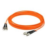 AddOn 4m ST OM1 Orange Patch Cable - cordon de raccordement - 4 m - orange