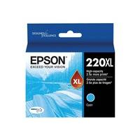 Epson 220XL With Sensor - High Capacity - cyan - original - ink cartridge