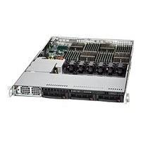 Supermicro SC818 TQ-1400LPB - rack-mountable - 1U - extended ATX  RM