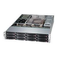 Supermicro SC826 BE16-R1K28WB - rack-mountable - 2U DRM