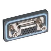 Black Box Water-Resistant Panel-Mount Connector - serial connector