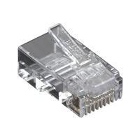 Black Box CAT6 Modular Plug - connecteur de réseau - Conformité TAA