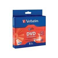 Verbatim - DVD-R x 5 - 4.7 GB - storage media
