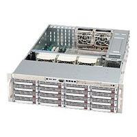 Supermicro SC836 E1-R800B - rack-mountable - 3U - extended ATX ARM
