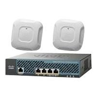 Cisco 2504 Wireless Controller - Mobility Express Bundle - network management device - with 2 x Cisco Aironet 3700 Series Access Points IWRLS