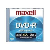 Maxell - DVD-R x 10 - 4.7 Go - support de stockage