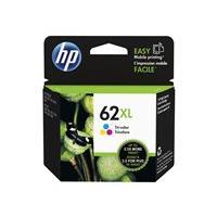 HP 62XL - High Yield - color (cyan, magenta, yellow) - original - ink cartridge