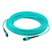 AddOn 5m MPO OM4 Aqua Patch Cable - cordon de raccordement - 5 m - turquoise