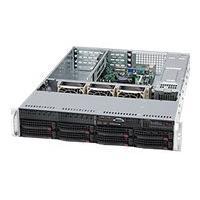 Supermicro SC825 TQ-560UB - rack-mountable - 2U - extended ATX  RM