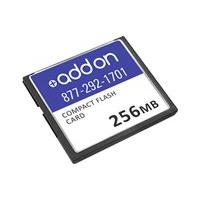 AddOn 256MB Cisco Compatible Compact Flash - flash memory card - 192 MB - CompactFlash