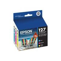 Epson 127 Multi-Pack With Sensor - 3-pack - Extra High Capacity - yellow, cyan, magenta - original - ink cartridge
