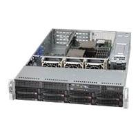 Supermicro SC825 TQ-R500WB - rack-mountable - 2U  RM
