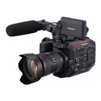 Panasonic AU-EVA1 - camcorder - body only - storage: flash card