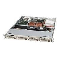 Supermicro SC813 TQ-520 - rack-mountable - 1U - extended ATX  RM