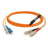 AddOn 1m SC OM1 & OS1 Orange Mode Conditioning Cable - mode conditioning cable - 1 m
