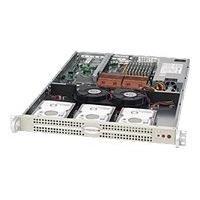 Supermicro SC812L 520U - rack-mountable - 1U - extended ATX  RM