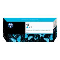 HP 91 - cyan - original - DesignJet - ink cartridge