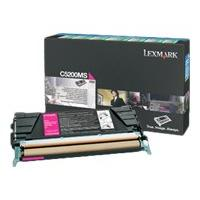 Lexmark - magenta - original - toner cartridge - LCCP, LRP