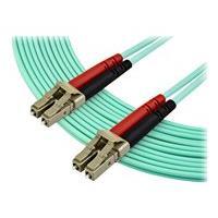 StarTech.com 7m OM3 LC to LC Multimode Duplex Fiber Optic Patch Cable - Aqua - 50/125 - LSZH Fiber Optic Cable - 10Gb (A50FBLCLC7) - cordon de raccordement - 7 m - turquoise