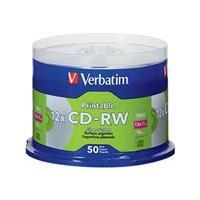 Verbatim DataLifePlus - CD-RW x 50 - 700 Mo - support de stockage