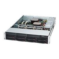 Supermicro SC825 TQC-R740LPB - rack-mountable - 2U - enhanced extended ATX  RM