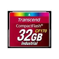 Transcend CF170 Industrial - carte mémoire flash - 32 Go - CompactFlash