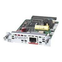 Cisco 1-Port ISDN BRI U High-Speed WAN Interface Card - ISDN terminal adapter - BRI U