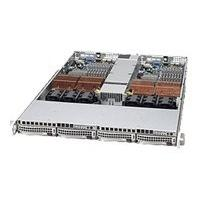 Supermicro SC808 T-980B - rack-mountable - 1U - up to 2 blades  RM