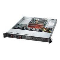 Supermicro SC111 TQ-600UB - rack-mountable - 1U - extended ATX  RM