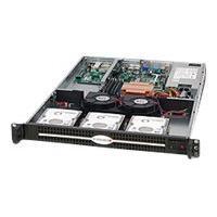 Supermicro SC812L 600UB - rack-mountable - 1U - extended ATX  RM