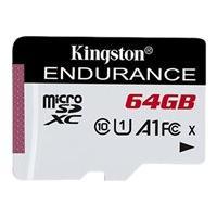 Kingston High Endurance - flash memory card - 64 GB - microSDXC UHS-I