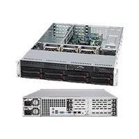 Supermicro SC825 TQ-R720UB - rack-mountable - 2U - extended ATX  RM