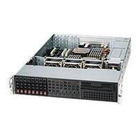 Supermicro SC213 LTQ-R720LPB - rack-mountable - 2U - extended ATX KRM