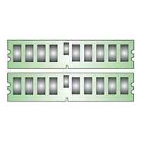 Kingston - DDR2 - kit - 16 Go: 2 x 8 Go - DIMM 240 broches - 667 MHz / PC2-5300 - mémoire enregistré
