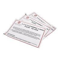 Datamax-O'Neil IQ - 1 - kit de cartes de nettoyage pour imprimante (pack de 25)