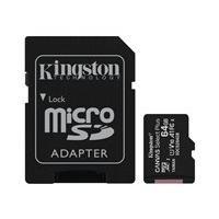 Kingston Canvas Select Plus - carte mémoire flash - 64 Go - microSDXC UHS-I