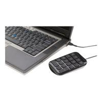 Targus Numeric - keypad - Canadian Bilingual - gray, black