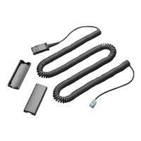 Poly câble de téléphone - 3.05 m