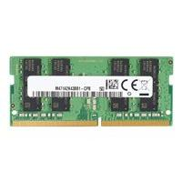 HP - DDR4 - module - 16 GB - SO-DIMM 260-pin - 3200 MHz / PC4-25600 - unbuffered (English / United States)