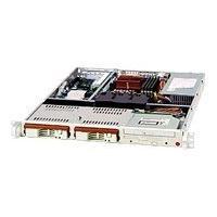 Supermicro SC811 i-300 - rack-mountable - 1U - ATX  RM