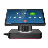 Lenovo ThinkSmart Hub - for Zoom Rooms - all-in-one - Core i5 8365U 1.6 GHz - vPro - 8 GB - SSD 128 GB - LED 10.1